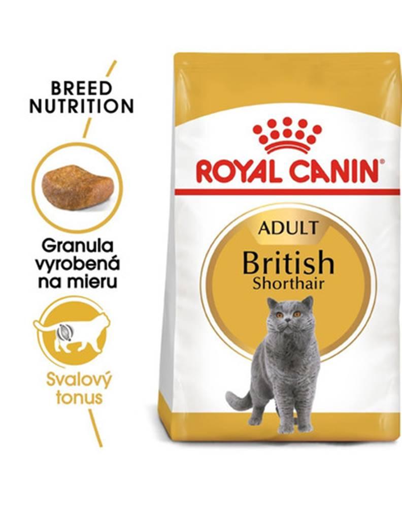 fera ROYAL CANIN British Shorthair Adult 2 x 10 kg granuly pre britské krátkosrsté mačky