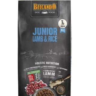 BELCANDO Junior Lamb & Rice M -L 12,5 kg Lamb and Rice - granule pre psy od 4 mesiacov veku, stredné a veľké plemená