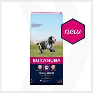 EUKANUBA Caring Senior Medium Breed 2 x 15kg kuracie granule
