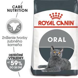 ROYAL CANIN Oral Care 2 x 8 kg granule pre mačky znižujúce tvorbu zubného kameňa