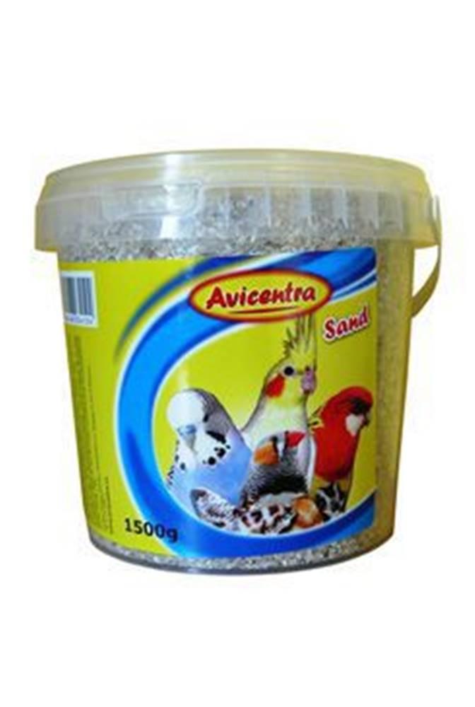 Avicentra Avicentra piesok pre vtáky s mušľami - 1,5 kg kýblik