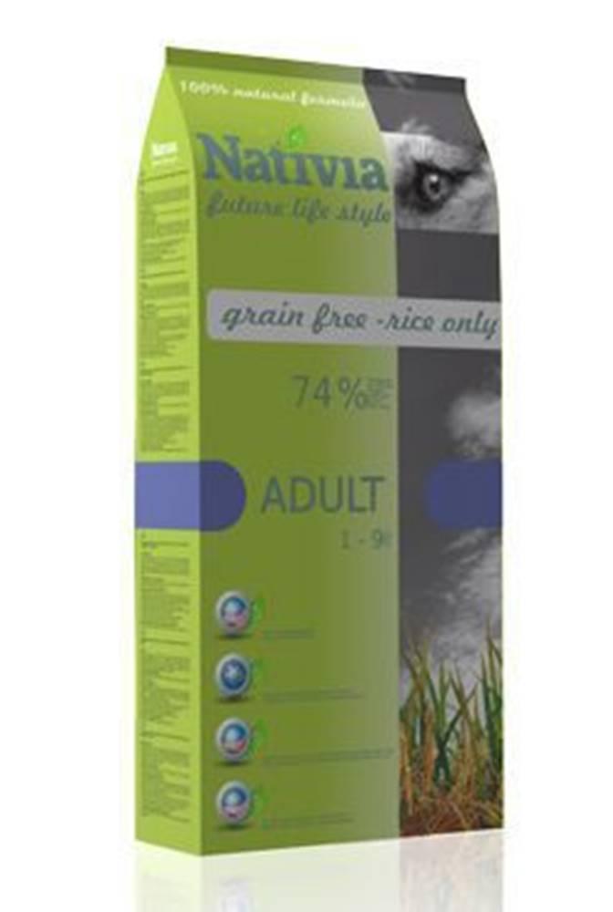 Nativia Nativia Dog Adult 15kg