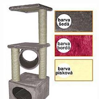 Tommi Traviata škrabadlo pre mačky šedej, 35x35x109 cm