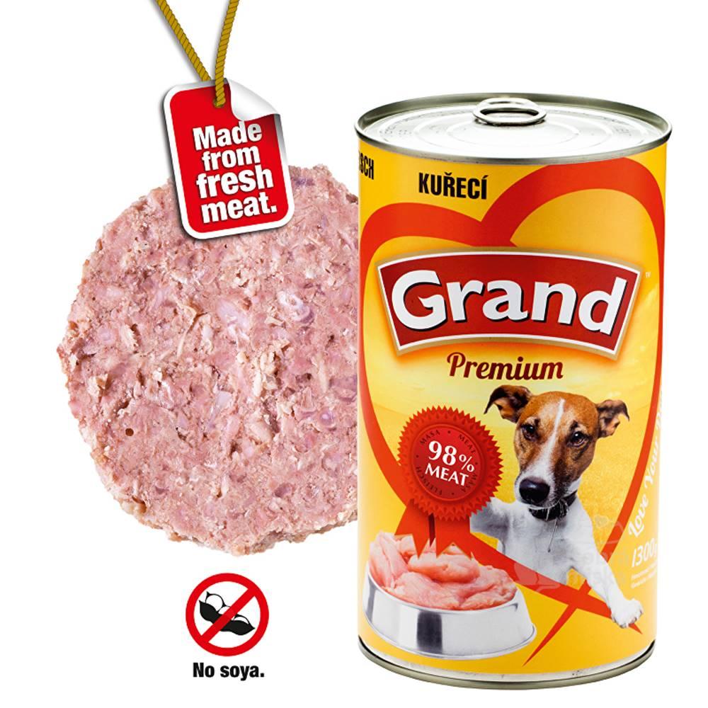 Grand GRAND konz. pes drůbeží 1300g