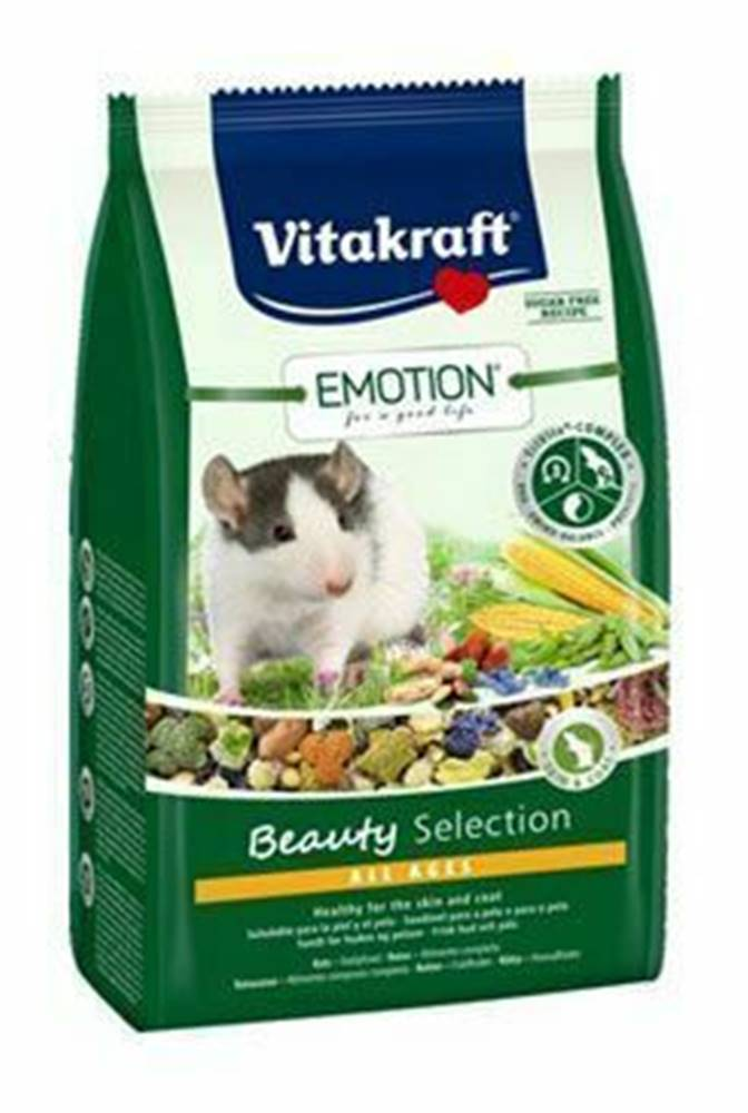 Vitakraft Vitakraft Rodent Rat krm. Emotion Beauty 600g
