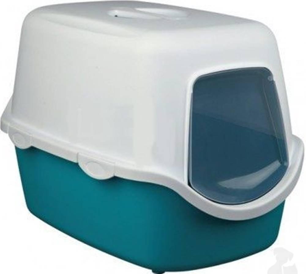 Trixie WC kočka kryté domek VICO 40x40x56 TR tyrkysová