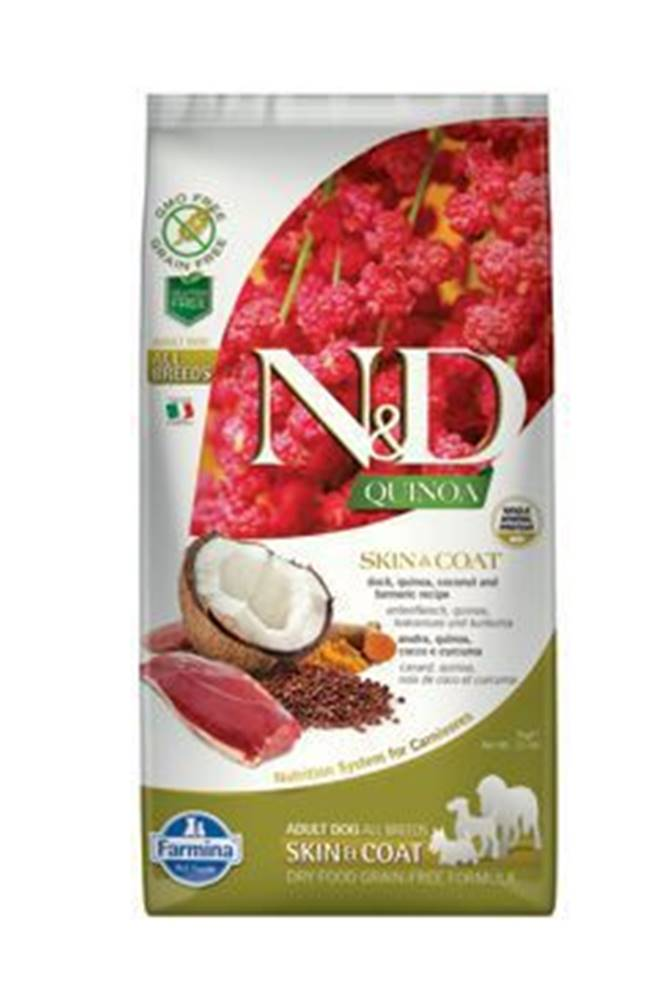 N&D N&D GF Quinoa DOG Skin&Coat Duck & Coconut 7kg