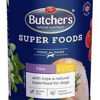 Butcher 's Dog Superfood držky a kuracie Paté konz.400g