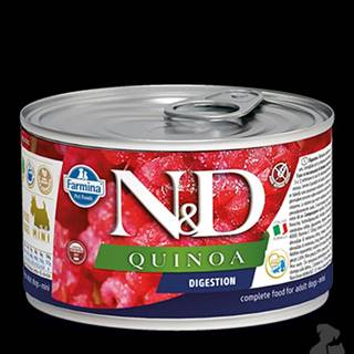 N&D DOG QUINOA Digestion Lamb & Fennel Mini 140g