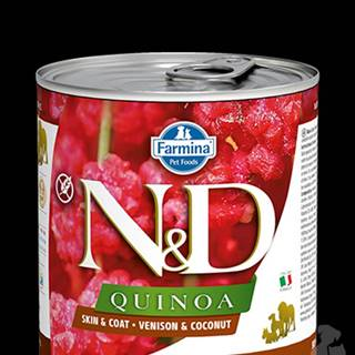 N&D DOG QUINOA Venison & Coconut 285g