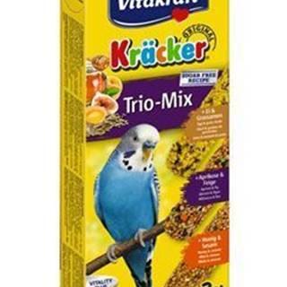 Vitakraft Bird Kräcker Trio Mix budgies 3ks