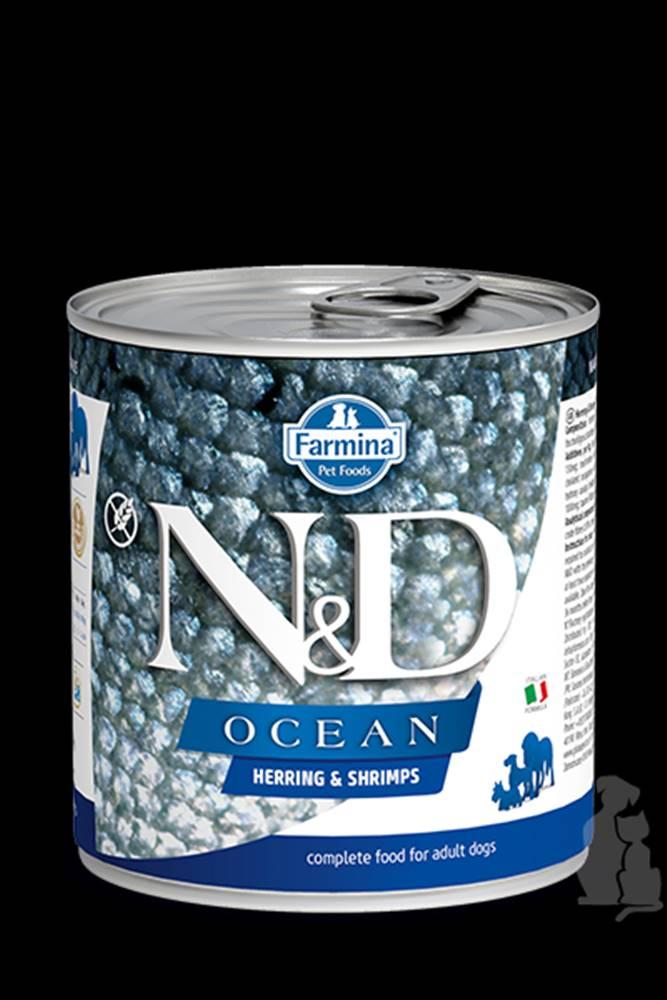 N&D (Farmina Pet Foods) N&D DOG OCEAN Adult Herring & Shrimps 285g
