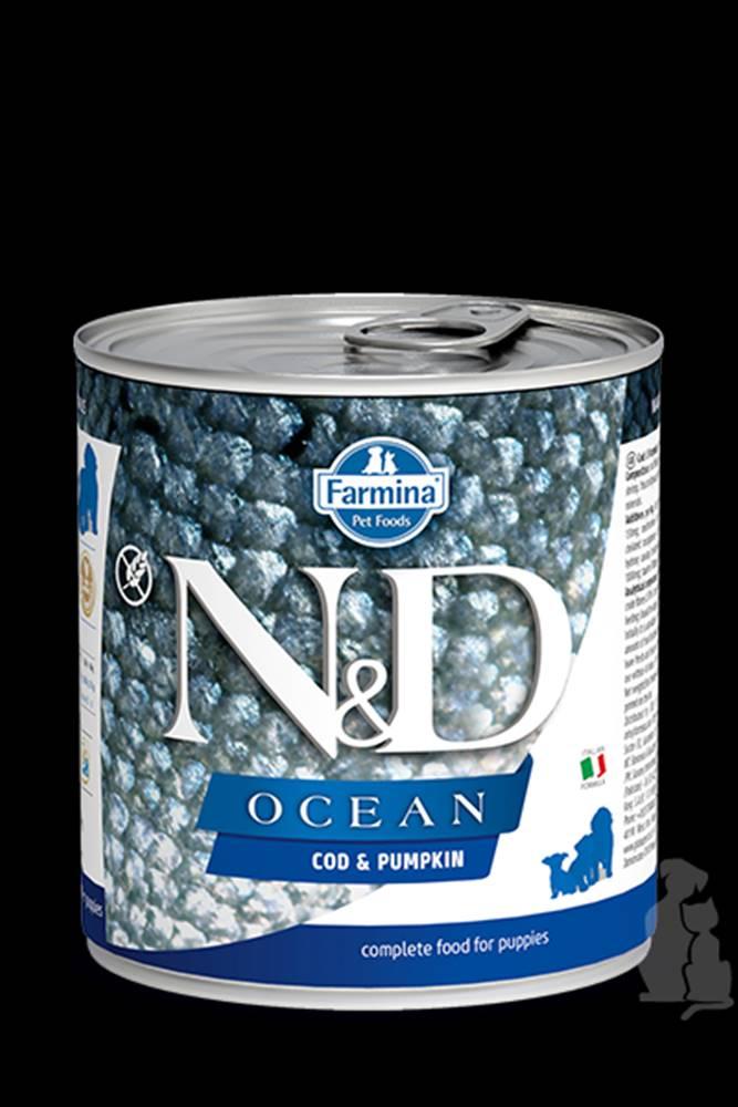 N&D (Farmina Pet Foods) N&D DOG OCEAN Puppy Codfish & Pumpkin 285g
