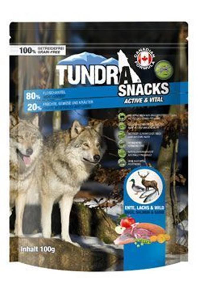 Tundra TUNDRA dog snack Duck, Salmon, Game Active&Vital 100g