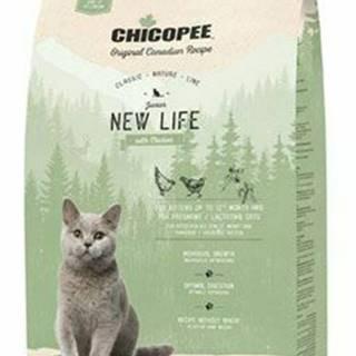Chicopee Cat JUNIOR New Life Chicken 1,5kg