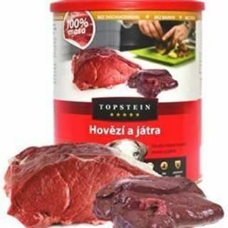 Topstein Hovädzie s pečeňou v plechu 800 g