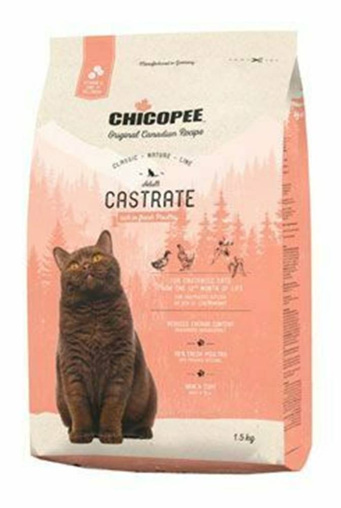 CHICOPEE Chicopee Cat Castrate Poultry  1,5kg