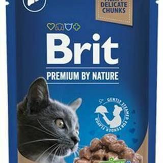 Brit Premium Cat vrecko Liver for Sterilised 100g