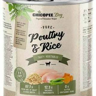 Chicopee Dog konz. Pure Poultry&Rice 800g