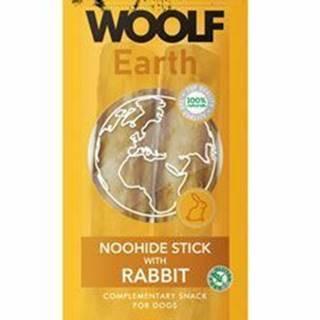 Woolf pochúťka Earth NOOHIDE L Sticks with Rabbit 85g