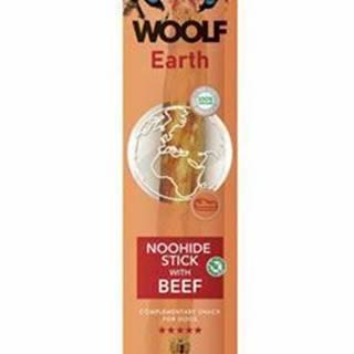 Woolf pochúťka Earth NOOHIDE XL Stick with Beef 85g