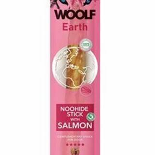 Woolf pochúťka Earth NOOHIDE XL Stick with Salmon 85g