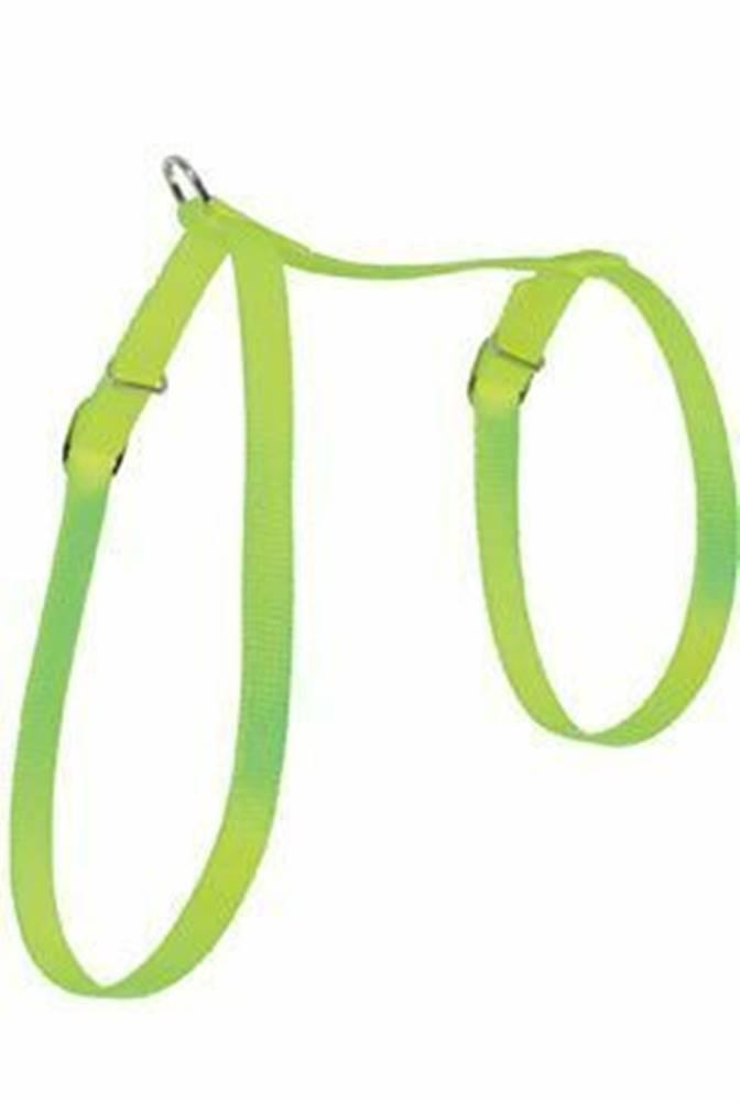 Zolux Postroj mačka nylon 10mm zelený Zolux