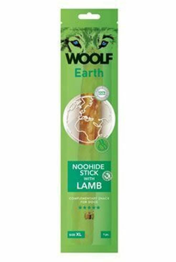 Woolf Woolf pochúťka Earth NOOHIDE XL Stick with Lamb 85g