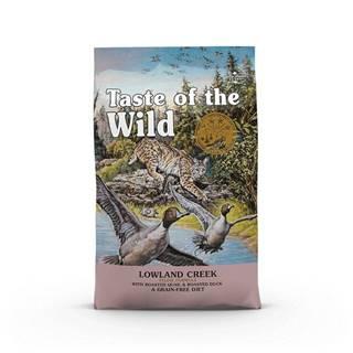 TASTE WILD cat Lowland creek - 6,6kg