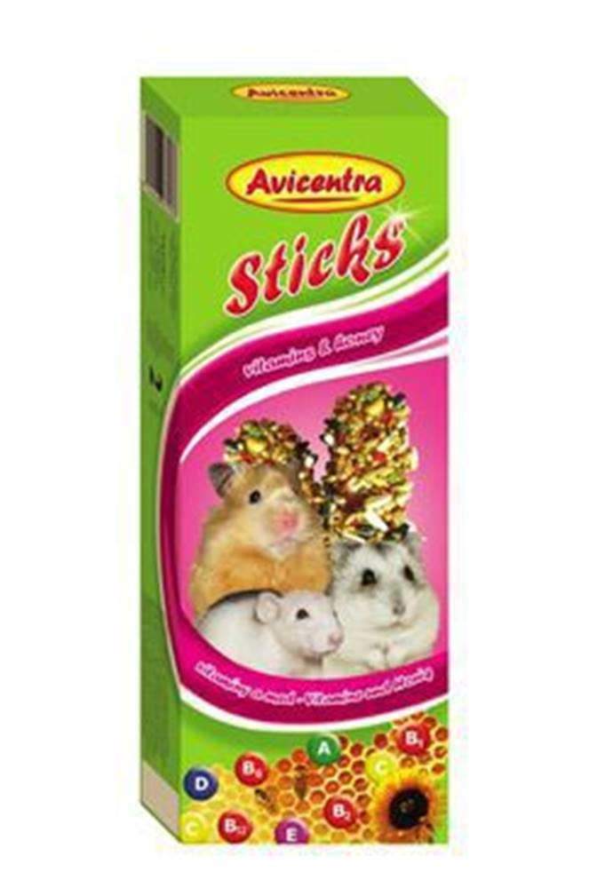 Avicentra Avicentra tyčinky malý hlodavec - vitam. + Med 2ks