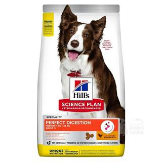 Hill's Can.Dry SP Perfect Digestion Medium 2,5kg