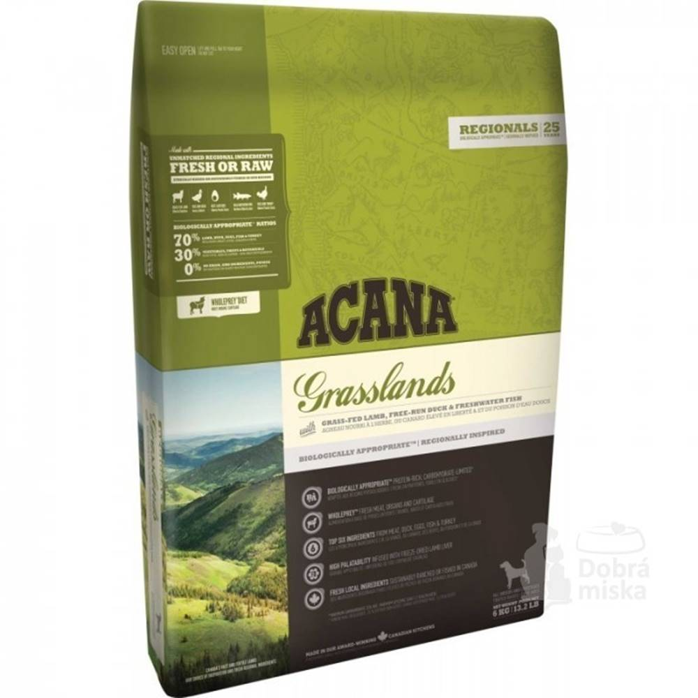 Acana Acana Dog Grasslands Regionals 340g