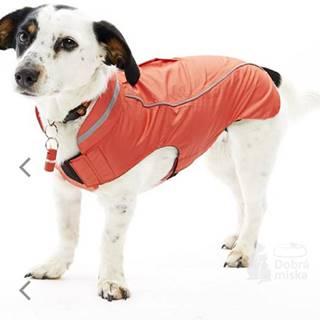 Obleček Raincoat Jahodová 36cm S/M KRUUSE