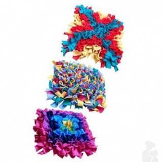 Hračka pes Čmuchací koberček M (45x30cm) rôzne farby