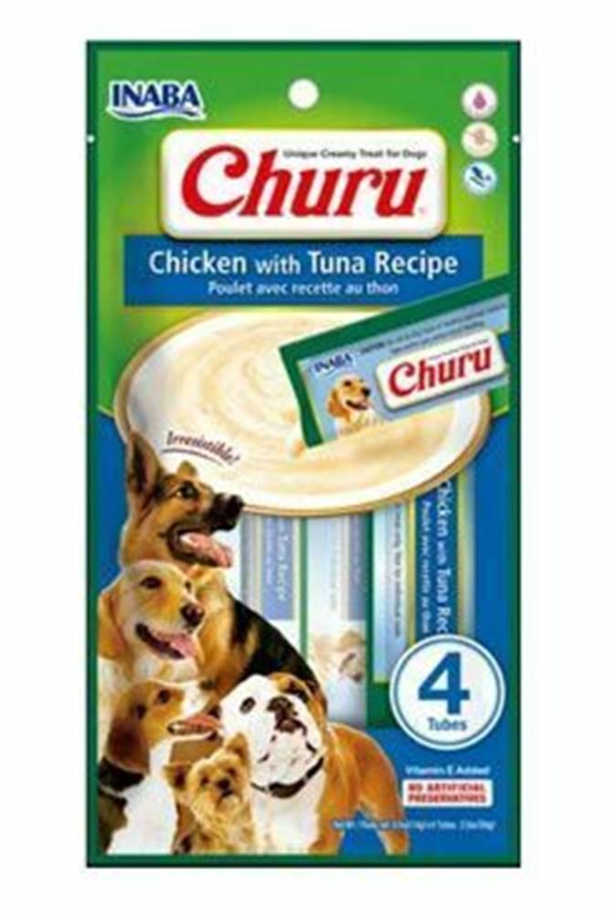 Ostatní Churu Dog Chicken with Tuna 4x14g