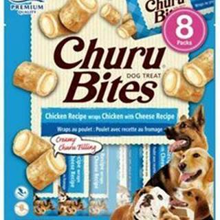 Churu Dog Bites Chicken wraps Chicken+Cheese 8x12g