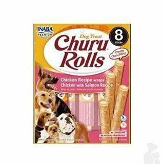 Churu Dog Rolls Chicken with Salmon wraps 8x12g