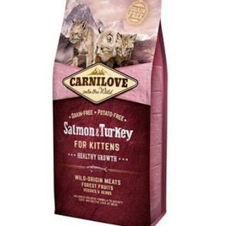 Carnilove Cat Salmon & Turkey for Kittens HG 2kg