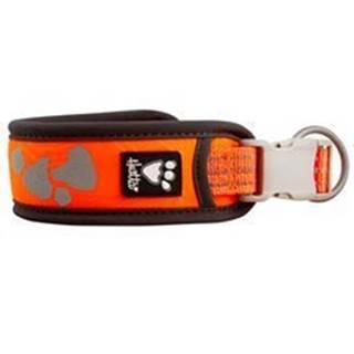 Obojok Hurtta Weekend Warrior neon oranžový 55-65cm