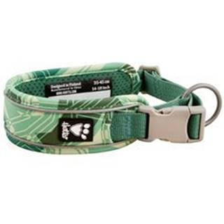 Obojok Hurtta Weekend Warrior zelený camo 55-65cm