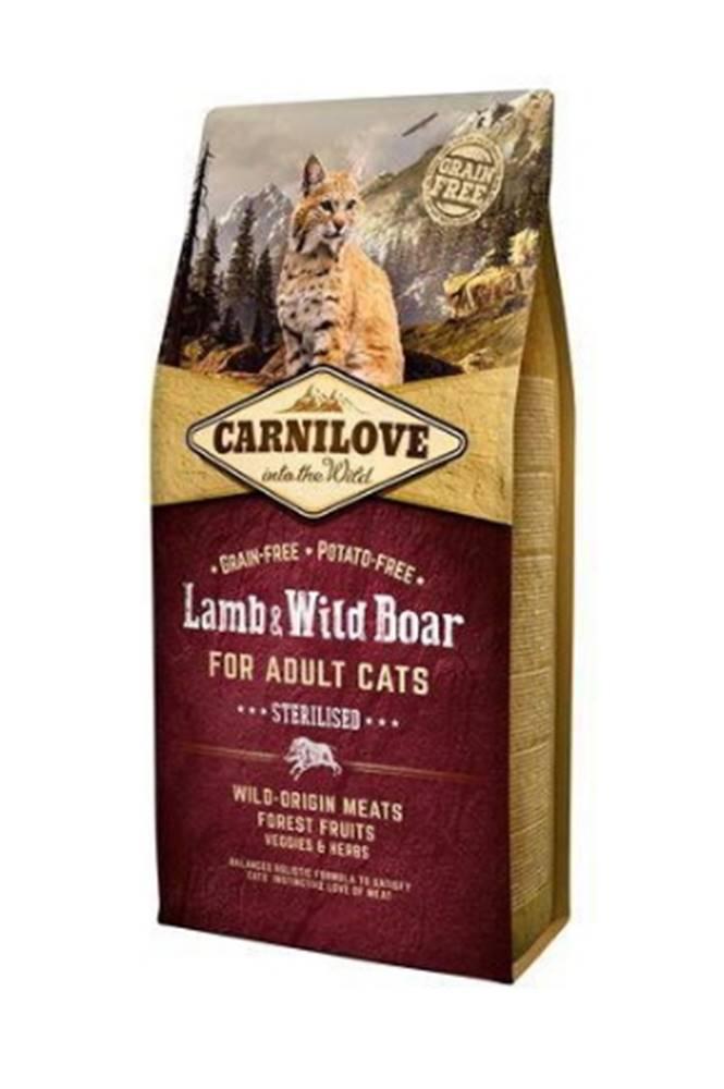 Carnilove Carnilove Cat Lamb & Wild Boar Adult Sterilised 6kg