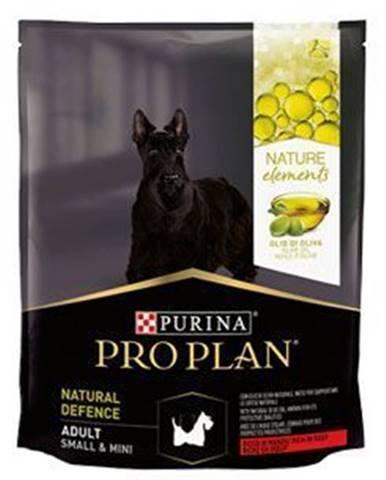 ProPlan Dog Adult Defence Sm & Mini hovädzie 700g