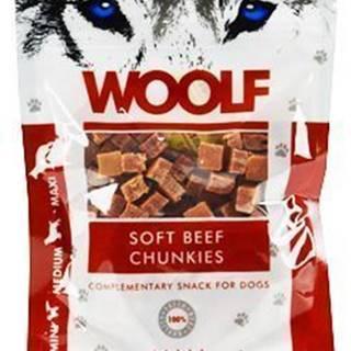 WOOLF pochúťka beef chunkies 100g