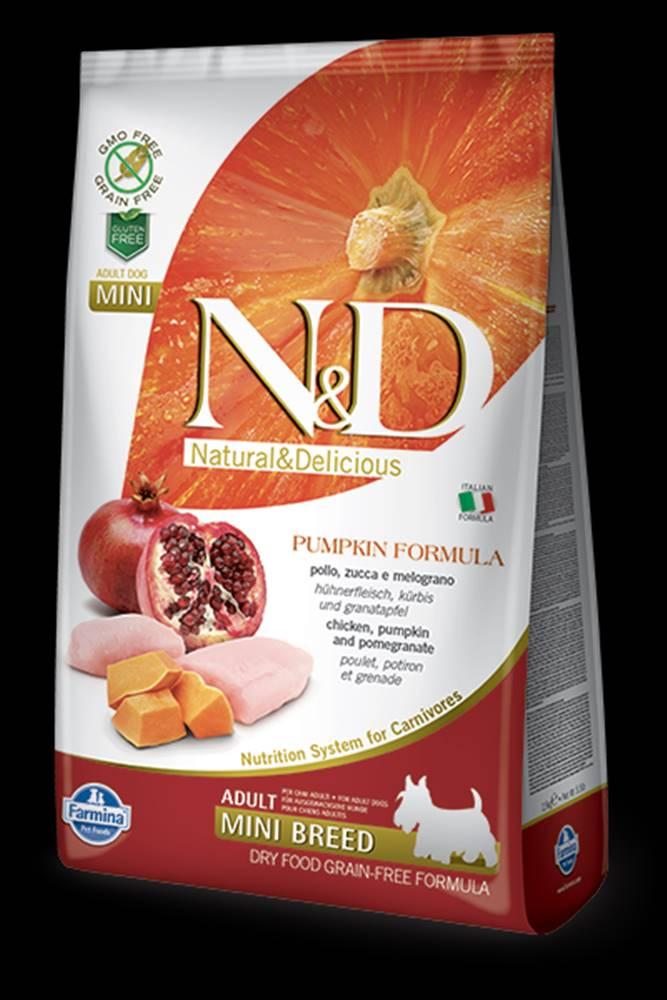 N&D N&D GF Pumpkin DOG Adult Mini Chicken&Pomegranate 7kg