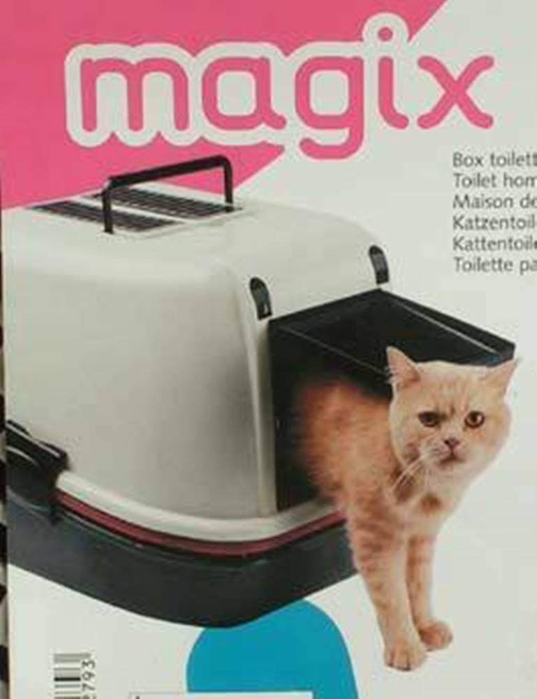 Ferplast WC mačka kryté domček Magix 55,5x45,5x41cm FP 1ks.