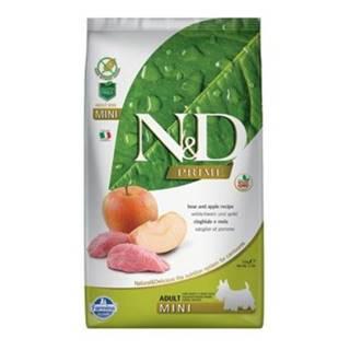 N&D PRIME DOG Adult Mini Boar & Apple 2,5kg