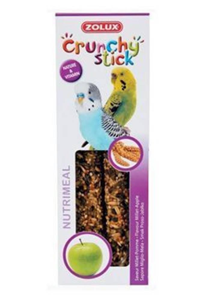 Zolux Crunchy Stick Parakeet Proso/Jablko 2ks Zolux