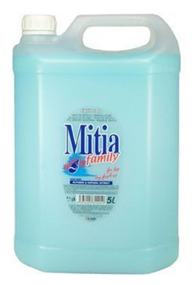 Ostatní Mýdlo tekuté Mitia Family Oceán 5l