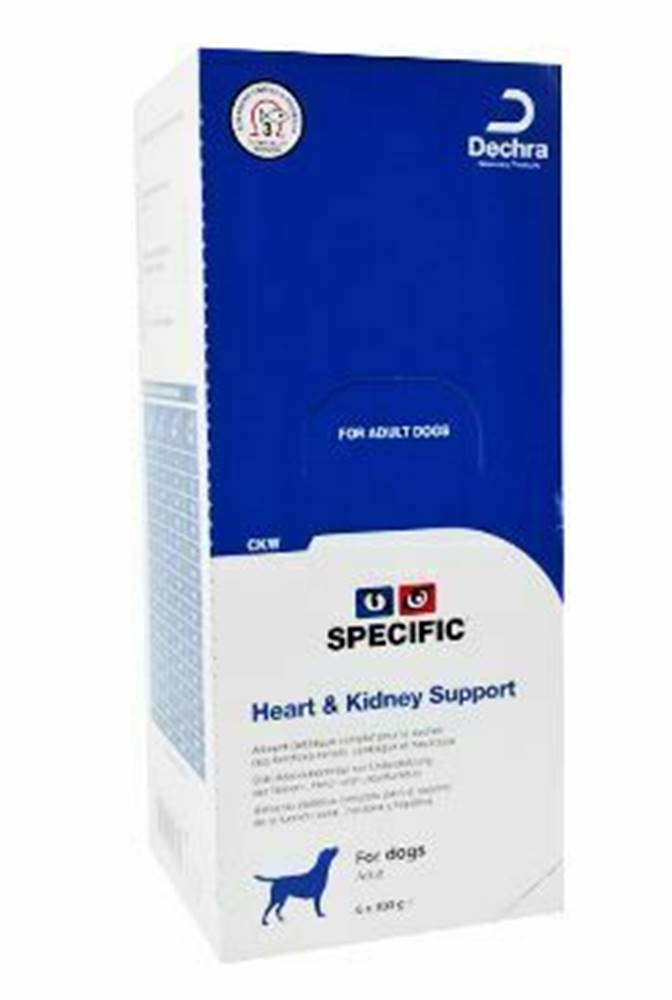 Specific Specific CKW Kidney Support 6x300g konz. pes