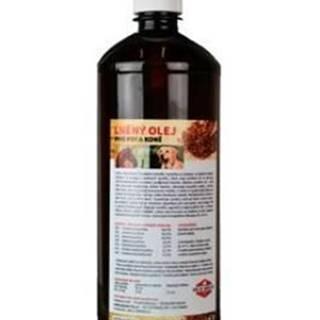 Lněný olej pro koně a psy ZEUS  1000ml
